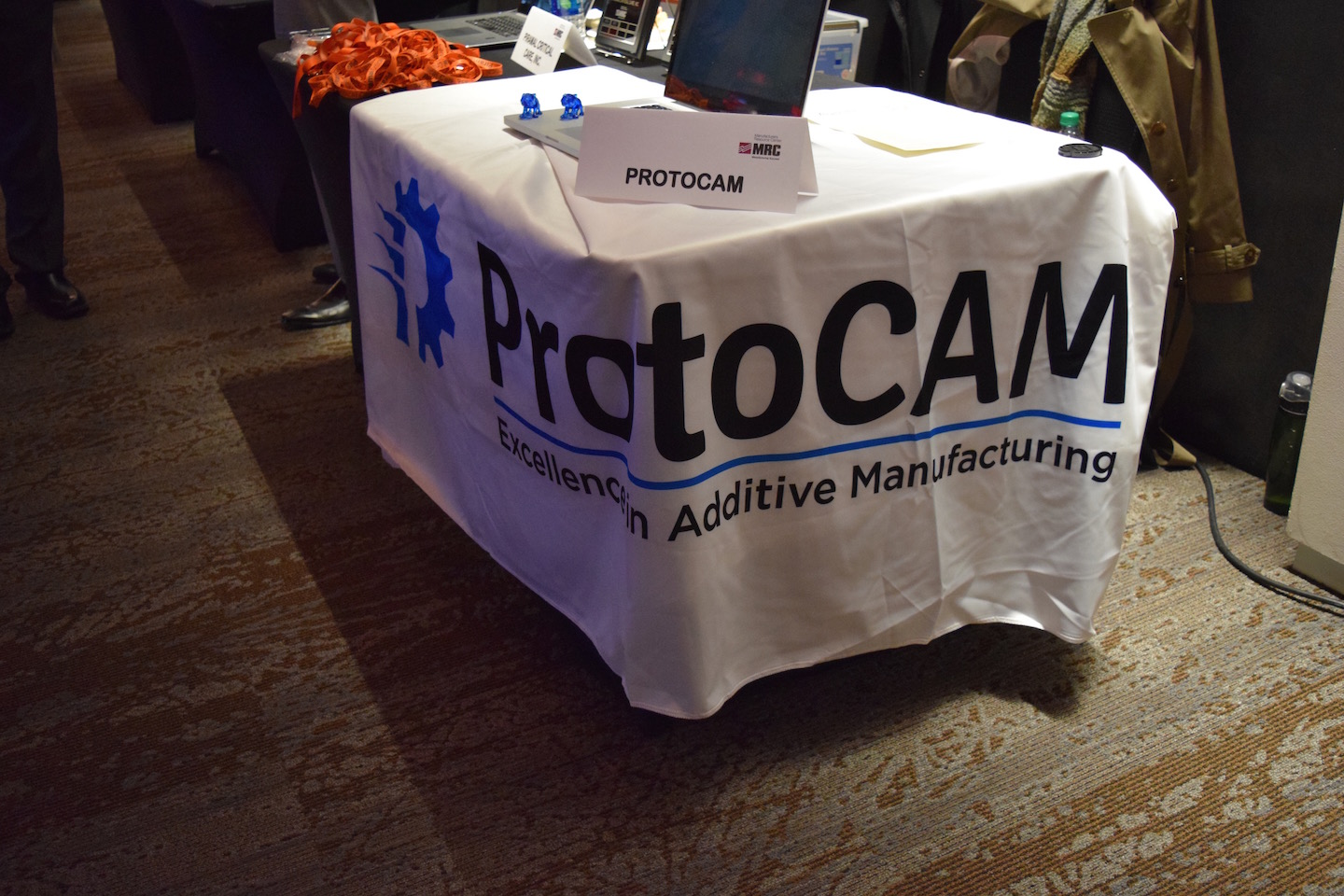 ProtoCAM's table