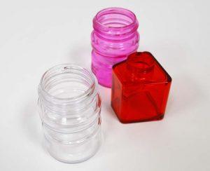 3 plastic bottles