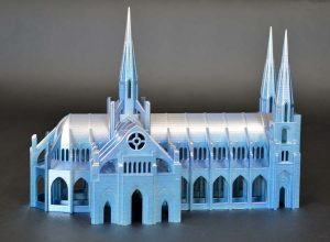 Architectural model of catheral